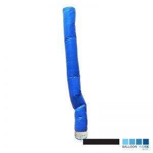 ท่อผ้าเคลือบ PU สีน้ำเงิน