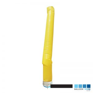 ท่อผ้าเคลือบ PU สีเหลือง